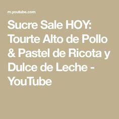 Sucre Sale HOY: Tourte Alto de Pollo & Pastel de Ricota y Dulce de Leche - YouTube Paris Cat, Gypsy Jazz, Music Publishing, Youtube, Songs, Panna Cotta, Pastries, Sweet Treats, Torte