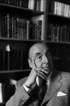 Henri Cartier-Bresson - Pablo Neruda, 1971