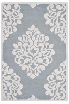 Martha Stewart Living™ Floret Damask Area Rug - Wool Rugs - Hand-tufted Rugs - Area Rugs - Rugs | HomeDecorators.com
