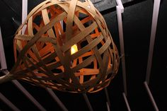 upcycling lamp by Philipp Wiedemann