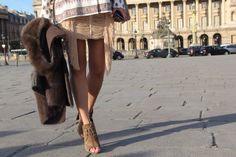 Magda Butrym skirt; Tom Ford shoes