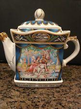 James Sadler's Teapot Shakespeare Series-A Midsummer Night's Dream China Teapot, Old Clocks, Kettles, Tea Service, Chocolate Pots, Tea Sets, Antique Toys, Teacups, Tea Time