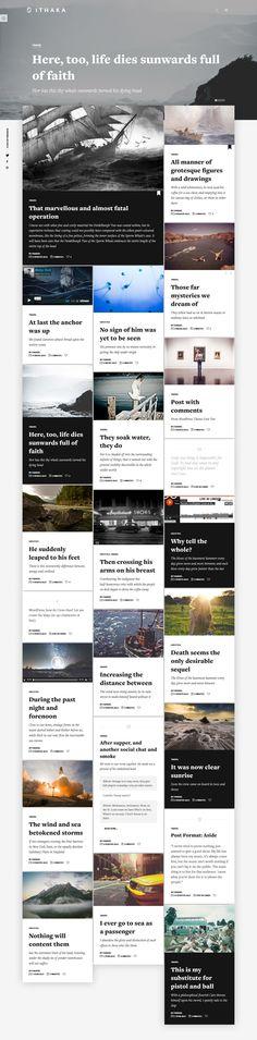 Modern Design, Web Design, Simple Blog, Wordpress Theme Design, Things To Come, Magazine, Live, Design Web, Contemporary Design