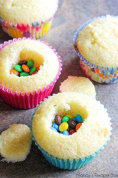 Pinata Cupcakes More