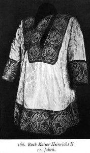 Robe of (Holy Roman) Emperor Heinrechs II, 11th Century, Kohler,Kostumewerk