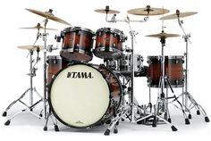 #Tama Starclassic Bubinga #Drums : Natural Bubinga Burst