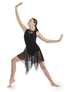 6aff85adc ... Dancewear | Asymmetrical Tank Dress - Style RC19747  #Revolutiondancewear #revolutiondance #dancewear #dancelife #danceuniform # leotards #dresses #dance ...