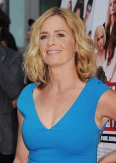 Actress Elisabeth Shue arrives at the 'Behaving Badly' Los Angeles Premiere at ArcLight Hollywood on July 29 2014 in Hollywood California