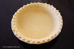 The only pie crust recipe I will ever use in the future!!