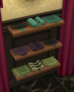 Deco UnderwearI made these specifically for part of my clothing store in Magnolia Promenade, Dauphine's Closet. You can find these in Clutter and they come in 40+ colors including my color palette and EA's original colors. These are great to sell or use as decoration around the bedroom or walk in closet. I will have the matching recolors for the wearable undies coming next!Download: SimsFileShare   OnedriveTOU:Don't claim as your own.If you recolor then link back to my original.Ask…