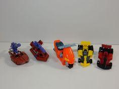 Hasbro Armada Mini-Cons Transformer Action Figures ~ Waterlog Stromcloud Mirage #Hasbro