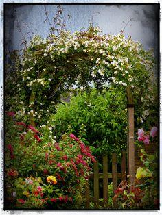 Garden gate   Flickr