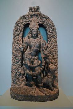 The  Hindu  deity  shiva  in  the  fierce  form  of  bhairava  Indian  and  Asian  art  Museum  of  San  Francisco