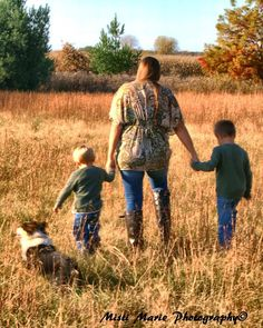 Family walk with the dog...~ Rochester, IN ~ Copyright © Misti Marie Photography 2011