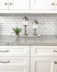 Trendy white granite table top to inspire you