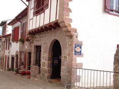 St. Jean Pied du Port France, the pilgrims office where you get your pilgrims passport.
