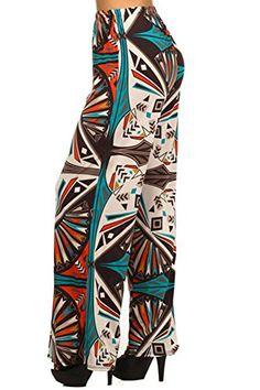 Carapace Womens Womens Tribal Print Long Pants