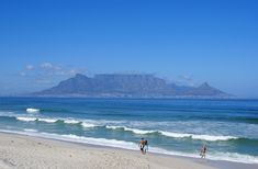 Table Mountain, Cape Town, view from Bloubergstrand <3 <3 <3