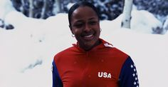 In 2002 Vonetta Flowers became the first black athlete to win a gold medal at a Winter Olympics. African Image, Sport Icon, Black Artists, Winter Olympics, African American History, Black Power, Black History Month, Athletic Women, Female Athletes