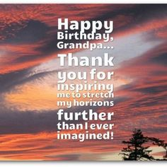 Happy birthday messages to Grandpa with heart touching lines and sayings. Happy Bday greetings for Grandfather best lines. #happybirthday #birthday #happybday #bdaywishes #grandpa #grandfather Happy Bday Greetings, Happy Birthday Messages, Beautiful Birthday Wishes, Heart Touching Lines, Happy B Day, Sayings, Happy Anniversary Messages, Happy Brithday, Happy Birthday