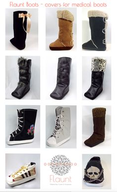 2c14a76bd61d8f Medical boots have never looked so good. When recovering from ankle surgery  or foot surgery