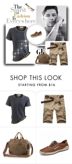 """Banggood 1 Men's Fashion#simple  wonderfully#"" by almin-sturm ❤ liked on Polyvore featuring men's fashion and menswear"