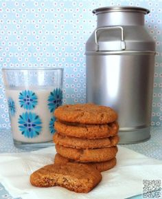 Flourless Almond Butter Cookies |powdered sugar 1 large egg 1 teaspoon pure vanilla extract