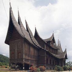 Istano Basa or Istana Pagaruyung (Pagaruyung Palace), Batusangkar, West Sumatera, Indonesia