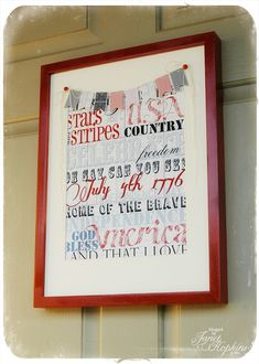 4th of july craft for front door