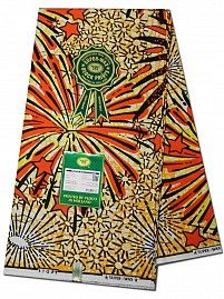 Stunning Embellished Super Wax Prints by Vlisco. Measuring 6 yards by 50 inches these designs are the very best from Vlisco. African Men Fashion, African Fashion Dresses, African Dress, Empire Textiles, Print Fabrics, Ancient Symbols, African Fabric, Limited Edition Prints, Motifs