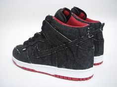 """Custom Nike Dunk Hi and Low """"Stitch and Destory"""" by Lazy High Shoes, All About Shoes, Flat Boots, Nike Dunks, Nike Sb, Custom Shoes, Shoe Game, Heeled Boots, Nike Women"""