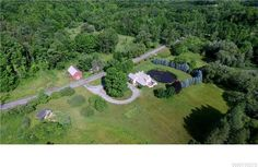 My new listing in Bennington! Large 4,000 square feet of living space in this 5-6 bedroom home on nearly 22 acres of mostly wooded land and pond..MLS #B504629 - 1177 Graff Rd, Bennington, NY 14011