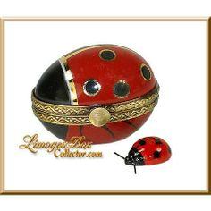 i <3 Limoges and ladybugs!