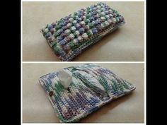 How To #Crochet Bobble Stitch Diaper & Wipe Holder Bag #TUTORIAL #311, My Crafts and DIY Projects