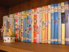 My collection, so far, of Enid Blyton books