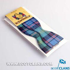 Clan Watson Tartan Self Tie Bow Tie