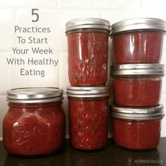 5 Practices To Start Your Week With Healthy Eating - New Nostalgia