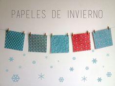 • 5 Papeles de Invierno • / Origami al alma