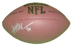 SOLD OUT! NY Giants Brian Mitchell signed NFL Wilson full size football w/ proof photo.  Proof photo of Brian signing will be included with your purchase along with a COA issued from Southwestconnection-Memorabilia, guaranteeing the item to pass authentication services from PSA/DNA or JSA. Free USPS shipping. www.AutographedwithProof.com is your one stop for autographed collectibles from New York sports teams. Check back with us often, as we are always obtaining new items.