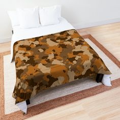'Army camo design' Comforter by MidnightBrain Camo Designs, Army Camo, Duvet Bedding, Make Your Bed, College Dorm Bedding, Bed Covers, Twin Xl, King Size, Comforters