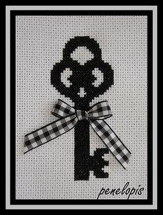 cross stitch key