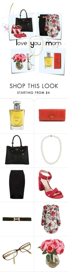 """Love You Mom"" by sara-cdth ❤ liked on Polyvore featuring Post-It, Christian Dior, Prada, Blue Nile, Cole Haan, Hermès and Calvin Klein"