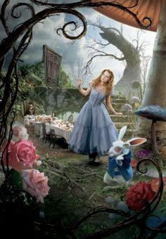 Fashion Inspired by Tim Burton's Alice in Wonderland