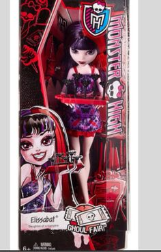 Monster High Ghoul Fair Elissabat In Box
