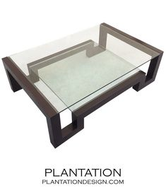 Step Coffee Table | Glass