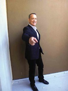 """Tom Hanks: """"I weep over much. I'm a sappy guy. I cry (easily) the way my grandkids can make me laugh. I laugh but I weep over human connections that are somehow reflective of this tenuous place we all have in this world. That's where I find myself getting emotional. I must say that I'm a great audience for anything that is going to pull at the heartstrings.  Read more: Tom Hanks Talks About Noice Somali Actors Who Almost Steal His Film"""