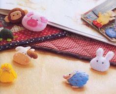 A Maria Bolinha Achou na Net!: Animals felt