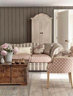 Vicky's Home: Collection of Vanessa Arbuthnott / Vanessa Arbuthnott Collection. Sweet mink and café au lait fabrics