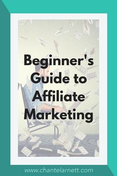 """Ready to turn your hobby blog into a money making business? This """"Beginner's Guide to Affiliate Marketing"""" is the perfect place to start."""