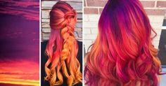 Resultado de imagen para personas con cabello de colores